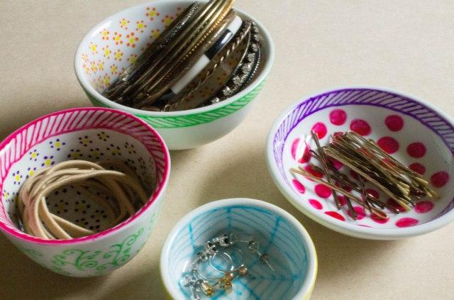 DIY Jewellery Storage - make them yourself, they're so pretty!