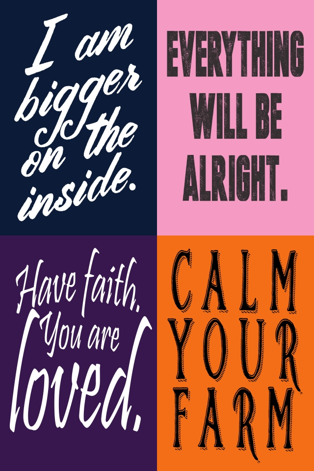 Free Wallet Printables! Inspiration on the go.